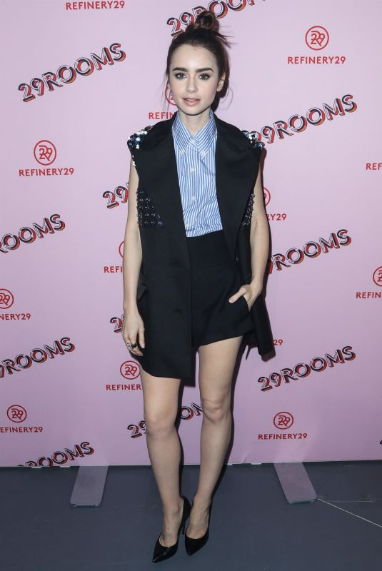 LILY COLLINS at Refinery29 29Rooms Los Angeles: Turn It Into Art Opening Party 12/06/2017