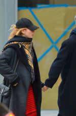 LILY JAMES and Matt Smith Out in New York 12/03/2017