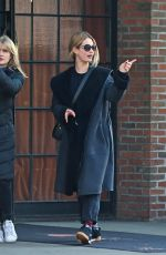 LILY JAMES Out and About in New York 12/04/2017