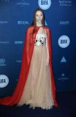 LILY NEWMARK at British Independent Film Awards in London 12/10/2017