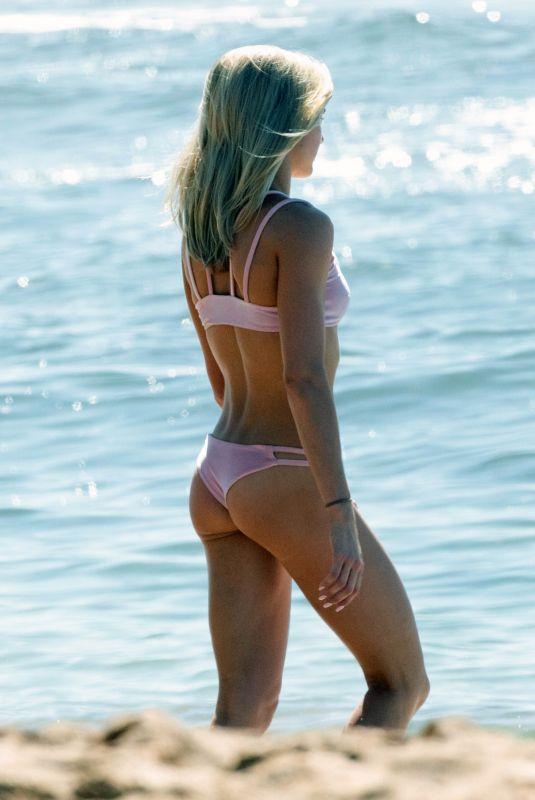 LINDSAY ARNOLD in Bikini at a Beach in Hawaii 12/03/2017
