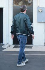 LINDSAY SHOOKUS and Ben Affleck Arrives at a Studio in Burbank 12/27/2017