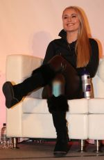 LINDSEY VONN at Alpine Skiing Fis World Cup Press Conference in Lake Louise 11/30/2017