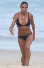 LISA CLARK in Swimsuit at a Beach in Sydney 12/07/2017