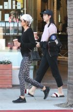 LISA RINNA and AMELIA HAMLIN Out for Coffee in Beverly Hills 12/29/2017