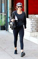 LISA RINNA Heading to Yoga Class in Studio City 12/30/2017