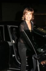 LISA RINNA Leaves Craig