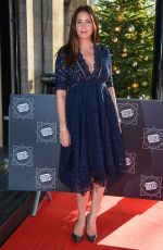 LISA SNOWDON at Tric Awards Christmas Lunch in London 12/12/2017