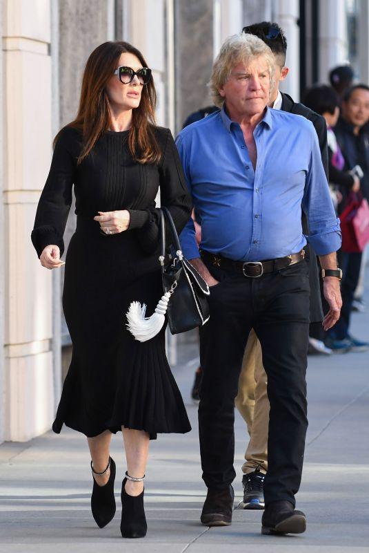 LISA VANDERPUMP and Ken Todd Out in Los Angeles 12/15/2017