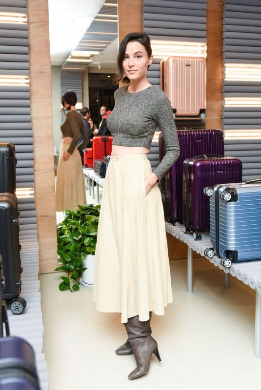 LOAN CHABANOL at Rimowa x Alexandre Arnault Pop-up Event in Los Angeles 12/12/2017