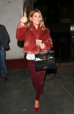 LORI LOUGHLIN at Madeo Restaurant in West Hollywood 12/21/2017