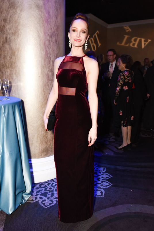 LOTTE VERBEEK at American Ballet Theatre Holiday Benefit Gala in Los Angeles 12/11/2017