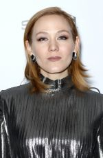 LOUISA KRAUSE at Crooked House Premiere in New York 12/13/2017