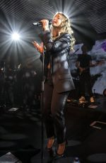 LOUISE REDKNAPP Performs Her First Live Show at Chelsea Football Club 12/22/2017