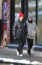 LOURDES LEON Out with a Friend in New York 12/14/2017