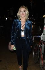 LUCY FALLON Night Out in Manchester 12/02/2017