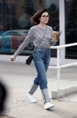 LUCY HALE Out for Iced Coffee in West Hollywood 12/20/2017