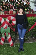 LUCY HALE Spread Holiday Cheer at Children