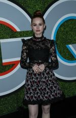 MADELAINE PETSCH at GQ Men of the Year Awards 2017 in Los Angeles 12/07/2017