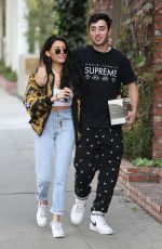 MADISON BEER and Zack Bia Out Shopping in West Hollywood 12/18/2017