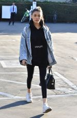 MADISON BEER Leaves Fred Segal in West Hollywood 12/07/2017