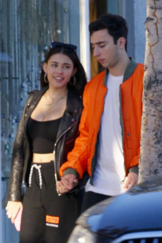 MADISON BEER Out for Lunch in Beverly Hills 12/28/2017