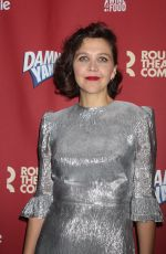 MAGGIE GYLLENHAAL at Benefit Concert Reading of Damn Yankees in New York 12/11/2017