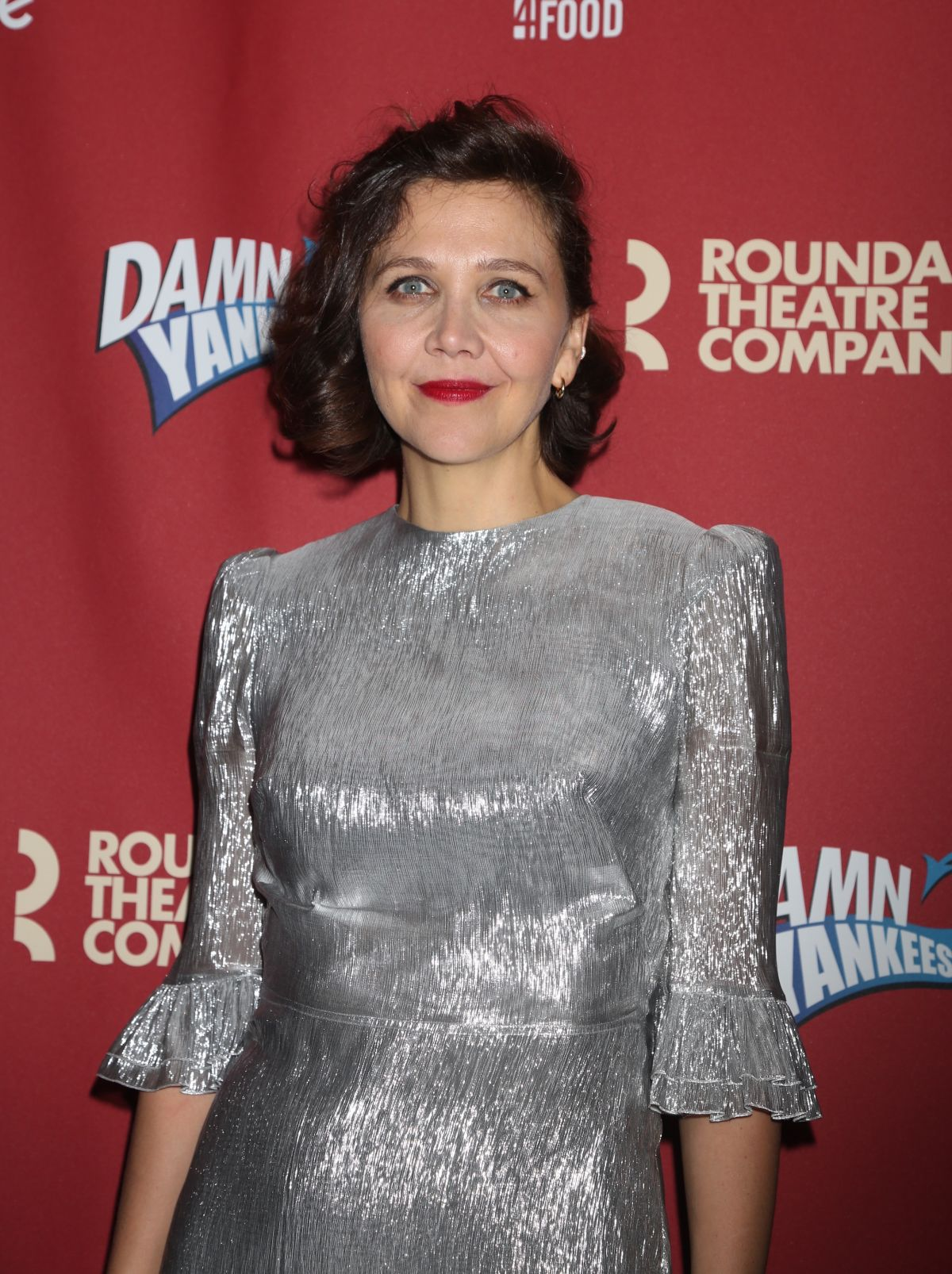 MAGGIE GYLLENHAAL at Benefit Concert Reading of Damn ... Maggie Gyllenhaal