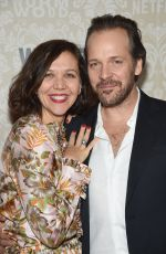 MAGGIE GYLLENHAAL at Wormwood Launch Party in New York 12/12/2017