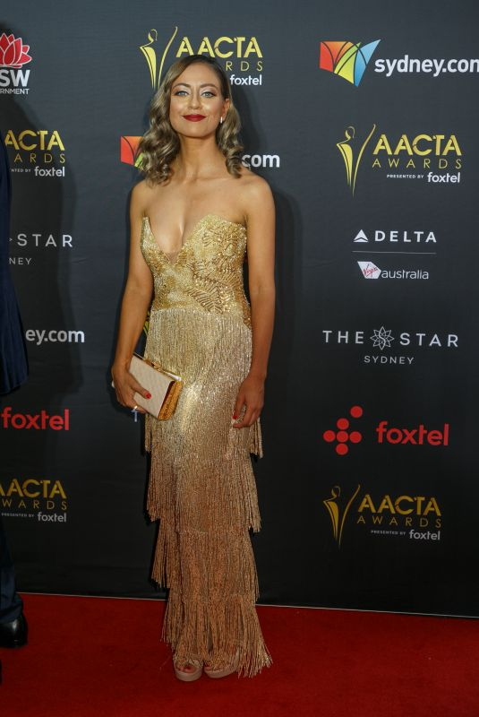 MAHA WILSON at 2017 AACTA Awards in Sydney 12/06/2017