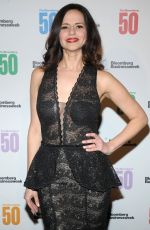 MANDY GONZALEZ at Bloomberg 50: Icons & Innovators in Global Business Awards in New York 12/04/2017