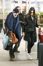 MANDY MOORE at JFK Airport in New York 12/27/2017