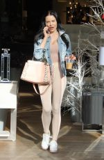 MARA TEIGEN Out Shopping in Beverly Hills 12/11/2017