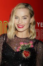 MARGOT ROBBIE at 1st Annual Neon Holiday Party Hosted by Margot Robbie and Allison Janney in New York 12/12/2017