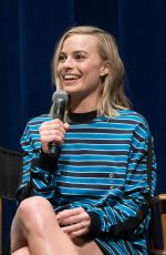MARGOT ROBBIE Speak Onstage Film Host Screening of I, Tonya in Beverly Hills 12/07/2017