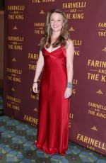 MARGOT WHITE at Farinelli and the King Broadway Opening Night in New York 12/17/2017