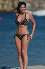 MARIA FOWLER in Bikini at a Beach in Cape Verde 12/13/2017