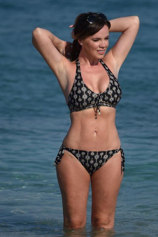 MARIA FOWLER in Bikini at a Beach in Cape Verde 12/13/2017