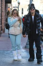 MARIAH CAREY and Bryan Tanaka Out and About in Aspen 12/27/2017