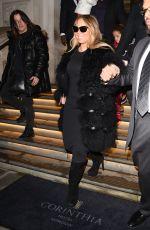 MARIAH CAREY Leaves Her Hotel in London 12/11/2017