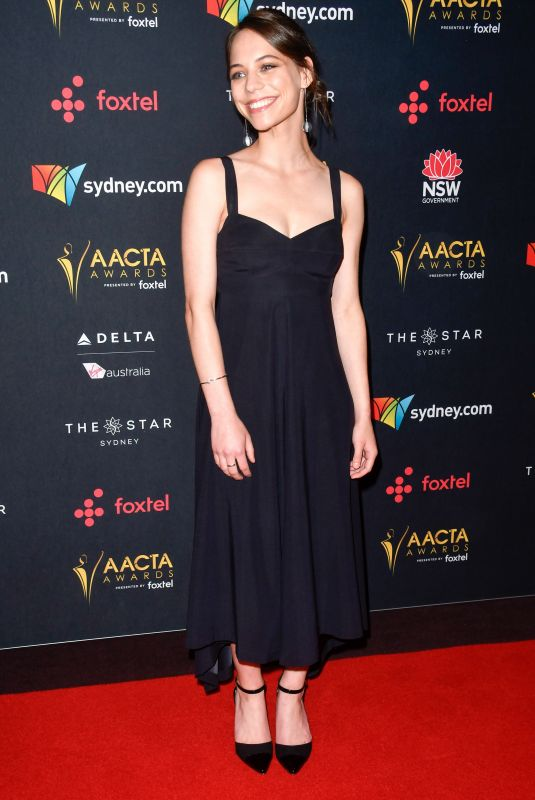 MARLO KELLY at Australian Academy Cinema Television Arts Awards Luncheon in Sydney 12/04/2017