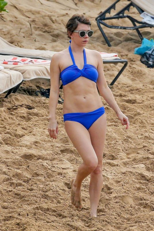 MARY ELIZABETH ELLIS in Bikini at a Beach in Maui 12/18/2017