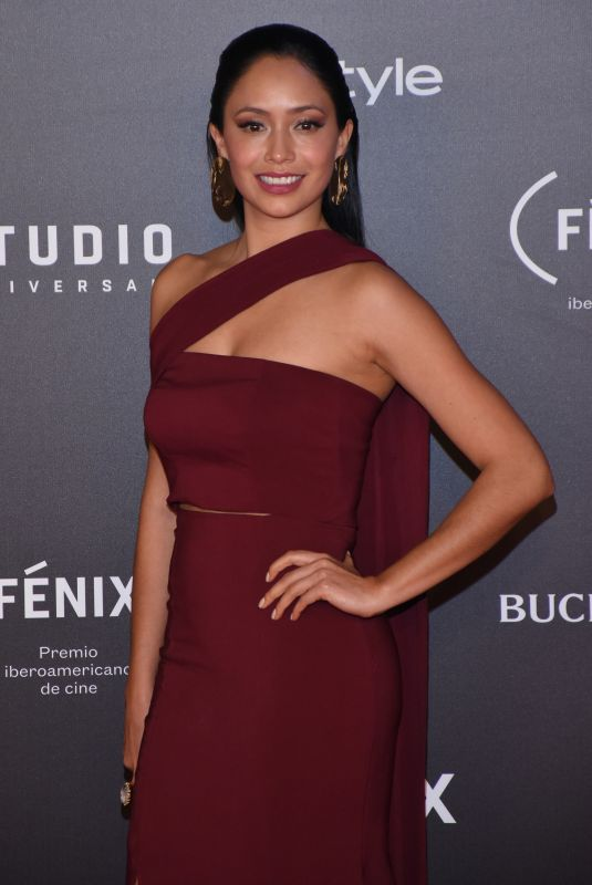 MAYA ZAPATA at Fenix Film Awards in Mexico City 12/06/2017