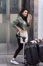 MEGAN MCKENNA at Heathrow Airport in London 12/04/2017