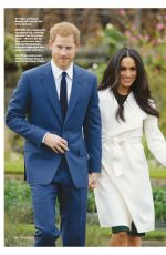 MEGHAN MARKLE and Prince Harry in Majesty Magazine, January 2018