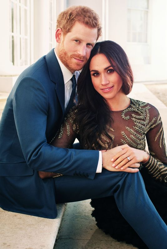 MEGHAN MARKLE and Prince Harry - Official Engagement Photos