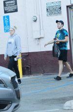 MEGHAN TRAINOR and Daryl Sabara Shopping at Romantix Store in Los Angeles 12/28/2017