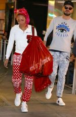 MELANIE BROWN and Gary Madatyan Out Shopping in Los Angeles 12/23/2017