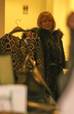 MELANIE GRIFFITH and GOLDIE HAWN Shopping at Cos Bar on Christmas Eve in Aspen 12/24/2017