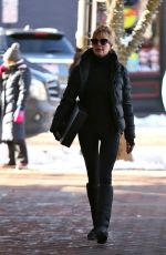 MELANIE GRIFFITH Out and About in Aspen 12/26/2017